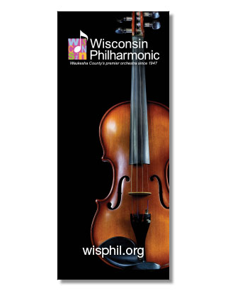 WI Philharmonic Banner Design